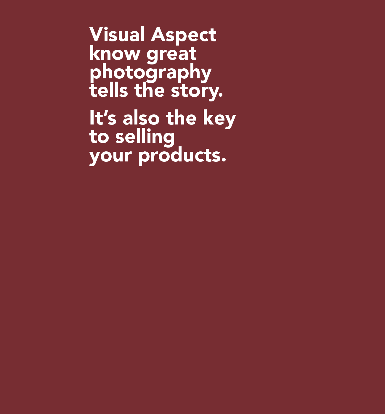 Visual Aspect eCommerce Photographers Glasgow